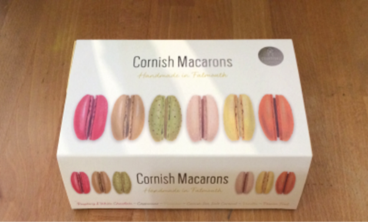 Cornish Macarons Gift Boxes - banner