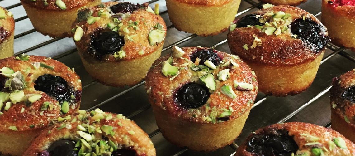 Almond & Fruit Cakes - banner