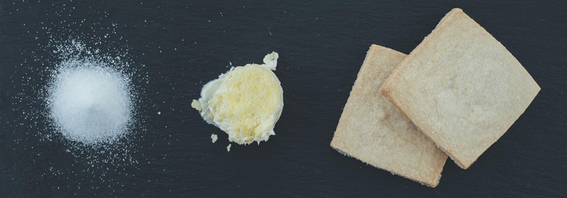 shortbread ingredients - banner
